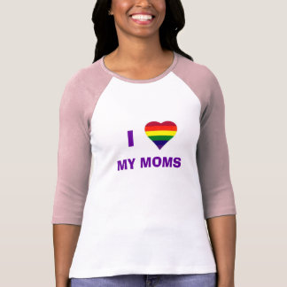 Camiseta Mim coração minhas mães