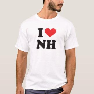 Camiseta Mim coração NH - New Hampshire
