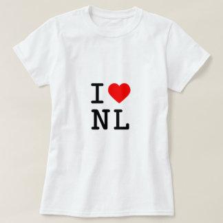 Camiseta mim coração NL