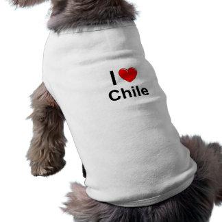 Camiseta Mim coração o Chile de Lovce