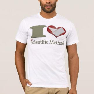 Camiseta Mim coração o método científico