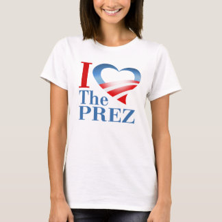 Camiseta Mim coração o Prez