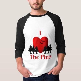 Camiseta Mim coração os pinhos