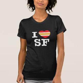 Camiseta Mim coração San Francisco!