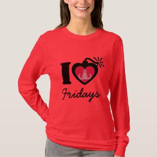 Camiseta Mim coração sextas-feiras