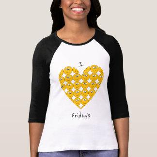 """Camiseta Mim """"coração"""" sextas-feiras com o t-shirt de"""