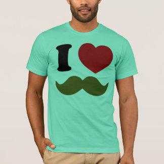 Camiseta Mim coração Stache