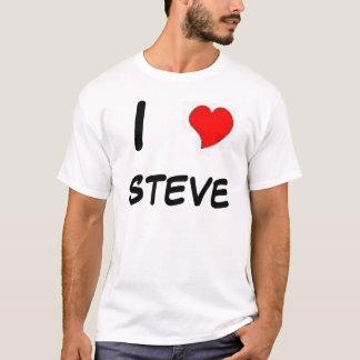 Camiseta mim coração steve