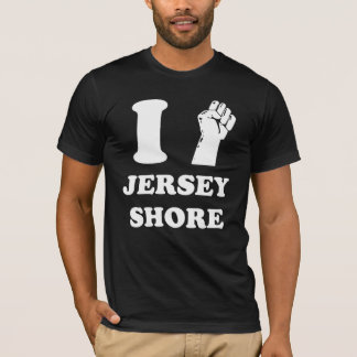 Camiseta Mim costa do jérsei da bomba do punho
