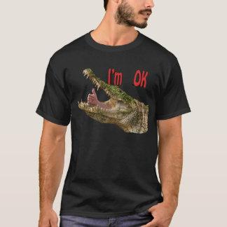 Camiseta mim, croc aprovado de m