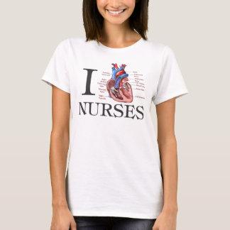 Camiseta Mim enfermeiras do coração