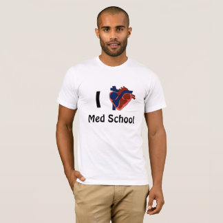 Camiseta Mim escola do MED do coração