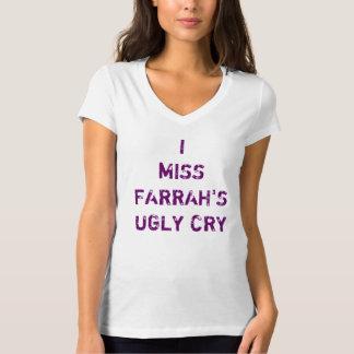 Camiseta Mim Feio Grito da senhorita Farrah