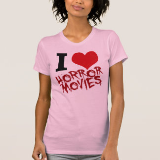 Camiseta Mim filmes de terror do coração