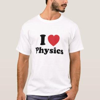 Camiseta Mim física do coração!