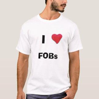 Camiseta Mim Fobs do coração