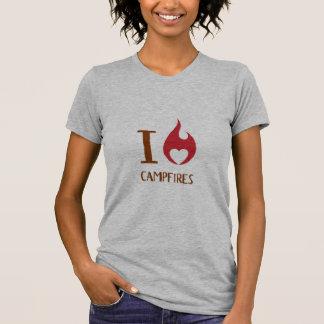 Camiseta Mim fogueiras do coração