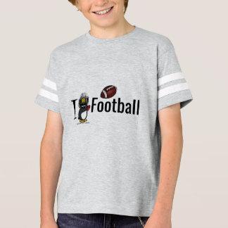 Camiseta Mim futebol do coração!