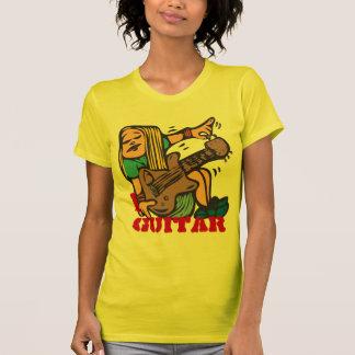 Camiseta Mim guitarra - guitarra de ajustamento do