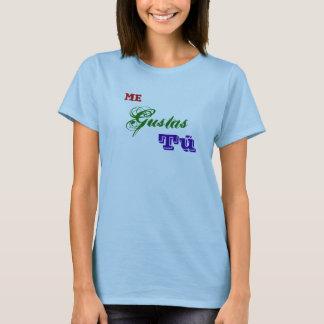 Camiseta Mim Gustas Tú
