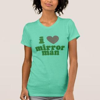 Camiseta Mim homem do espelho do coração - Tshirt