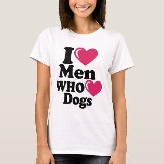 Camiseta Mim homens do coração que o coração persegue o
