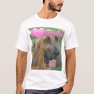 """Camiseta Mim jérsei Joe do """"coração"""""""