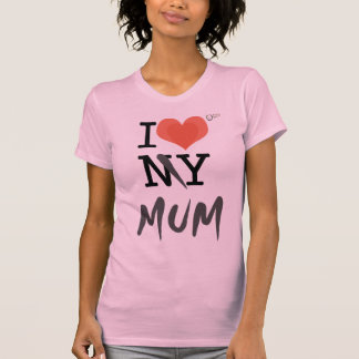 Camiseta Mim luv minha mãe V