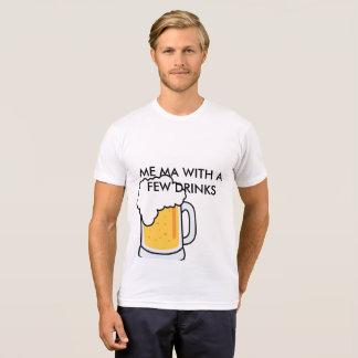 Camiseta Mim mães com t-shrit de algumas bebidas