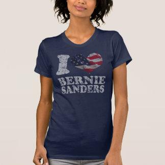 Camiseta Mim máquinas de lixar de Bernie da bandeira