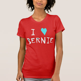 Camiseta Mim máquinas de lixar de Bernie do coração