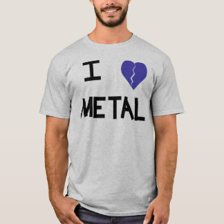 Camiseta mim metal 4 do coração