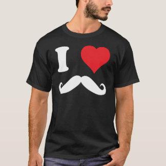 Camiseta mim moustache do coração!!!