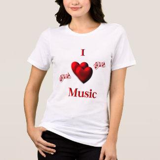Camiseta Mim música do coração