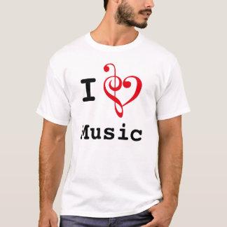 Camiseta Mim música do coração (estilo original)