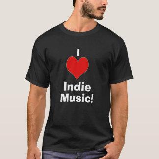 Camiseta Mim música Indie 2 do coração