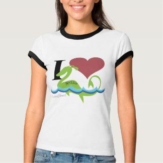 Camiseta Mim Nessie do coração