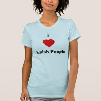 Camiseta Mim pessoas de Amish do coração