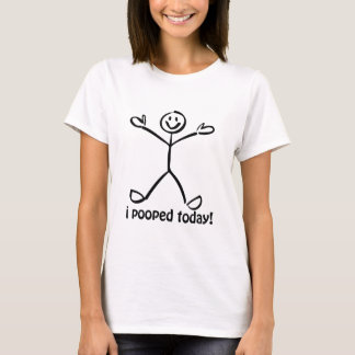 Camiseta Mim Pooped hoje