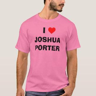 Camiseta Mim PORTEIRO de JOSHUA do coração