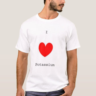 Camiseta Mim potássio do coração