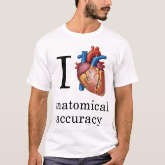 Camiseta Mim precisão anatômica do coração