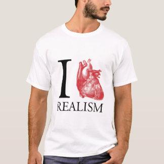 Camiseta Mim realismo do coração