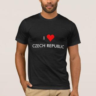 Camiseta mim república checa do coração