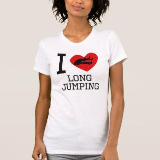 Camiseta Mim salto longo do coração