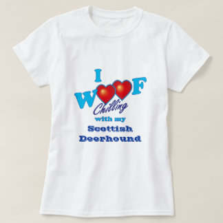 Camiseta Mim Scottish Deerhound do Woof