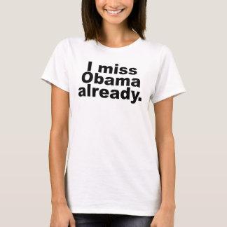 Camiseta Mim senhorita Obama Já (roupa leve)