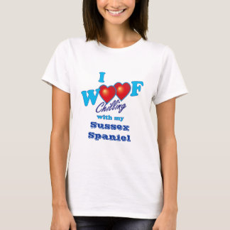 Camiseta Mim Spaniel de Sussex do Woof