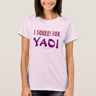 Camiseta Mim Squee! para Yaoi