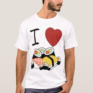 Camiseta Mim sushi do coração